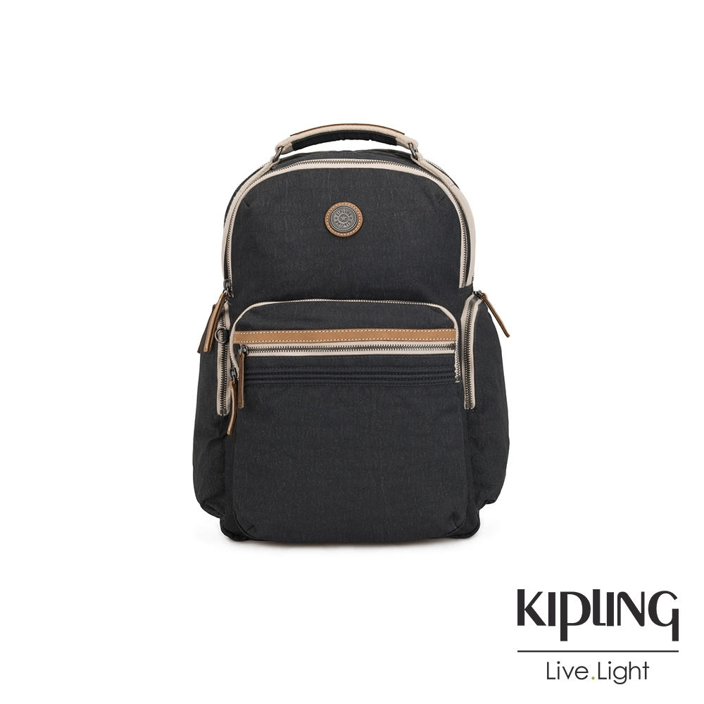 Kipling 邊緣地帶系列城市探索霧灰大容量手提後背包-OSHO