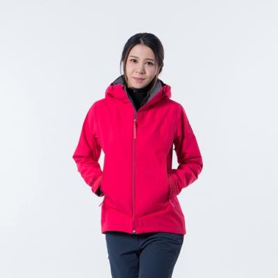 法國【EiDER】女專業Gore-tex 3L 防水連帽外套 / 20EIV5224-桃紅