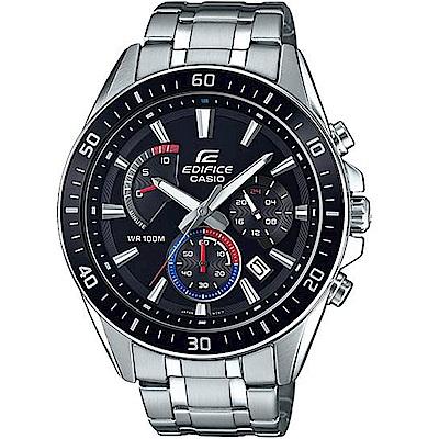CASIO卡西歐EDIFICE三眼賽車腕錶(EFR-552D-1A3)