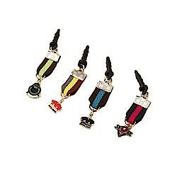 HAPPYMORI 勳章造型手機、MP3耳機塞吊飾 (3.5mm適用)