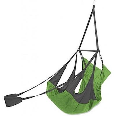 ENO Air Pod Hanging Chair 輕量懶人躺椅 碳灰/萊姆綠