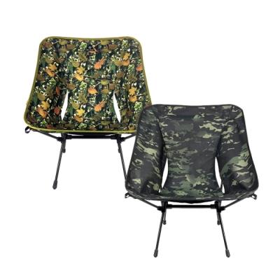 [OWL CAMP]極致輕量標準戰術椅.戰術款摺疊椅折疊椅休閒椅月亮椅太空椅