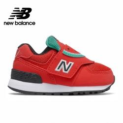 【New Balance】童鞋_中性_紅色_IV574FRR-W楦
