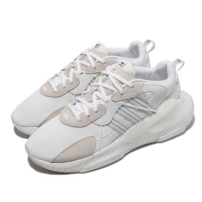 adidas 休閒鞋 Hi-Tail 厚底 舒適 男鞋 愛迪達 簡約 質感 老爹鞋 穿搭 白 灰 H69041
