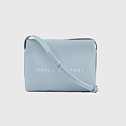 MARCO LAURENT Ice Cream 軟軟刺繡肩背包 - 粉藍色
