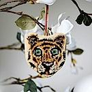 荷蘭東印度公司 老虎造型羊毛吊飾