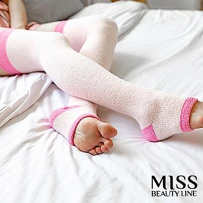 MISS BEAUTY LINE韓國原廠遠紅外線/陶瓷纖維美雕襪-夜間美雕暖香睡眠