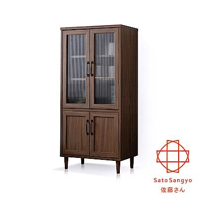 Sato-POWRY晴波小宅四門收納櫃‧幅60cm