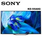 SONY索尼 55吋 4K HDR OLED智慧聯網液晶電視 KD-55A8G 公司貨