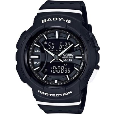 BABY-G 慢跑運動時尚腕錶 BGA-240-1A1