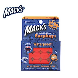美國 Mack s 兒童矽膠耳塞 防噪音 飛行 游泳 適用