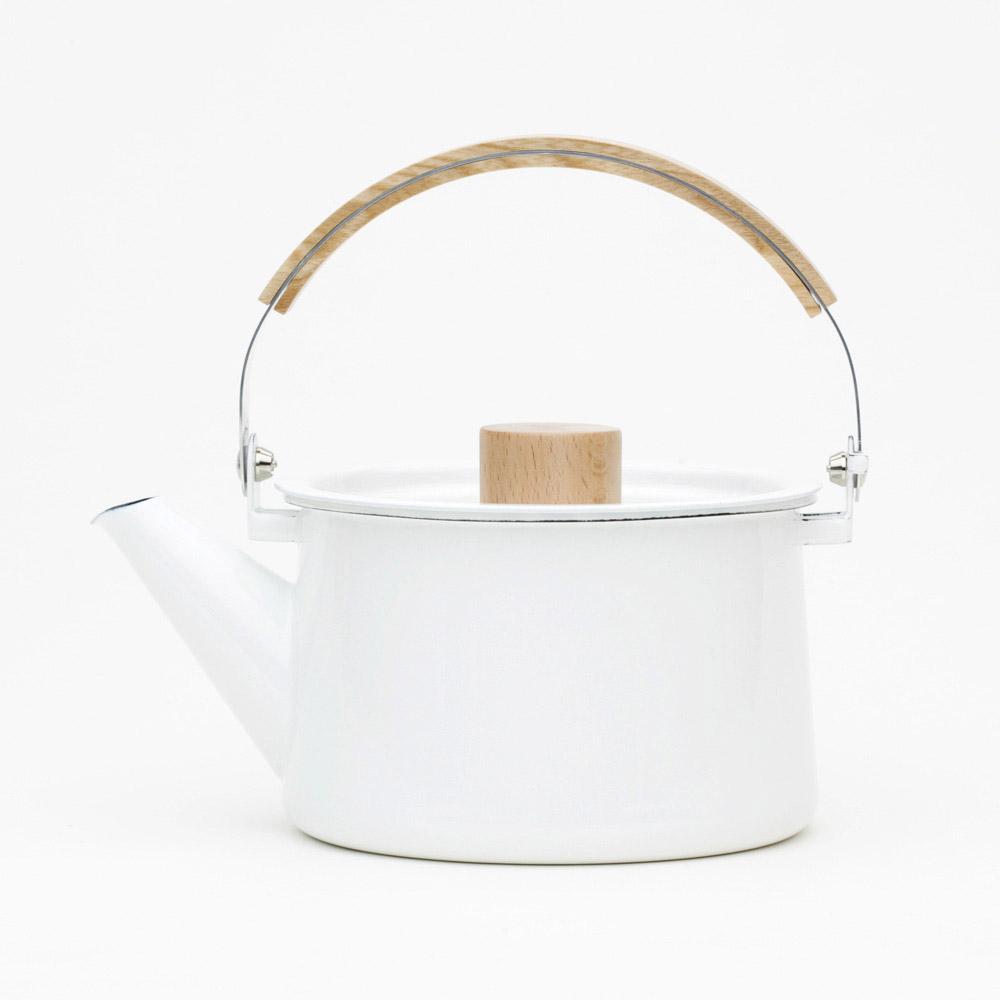 日本kaico 簡約風琺瑯茶壺