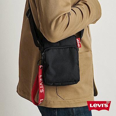 Levis 男女同款 基本款Logo側背包 品牌拉鍊吊飾