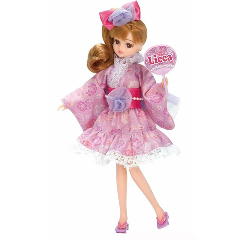 任選Licca LW-13紫色浴衣(不含娃娃) LA12921 莉卡娃娃 TAKARA T