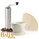 日本三洋 101 咖啡濾紙100張 & Bafin House 陶瓷濾杯及不鏽鋼磨豆機組 product thumbnail 1