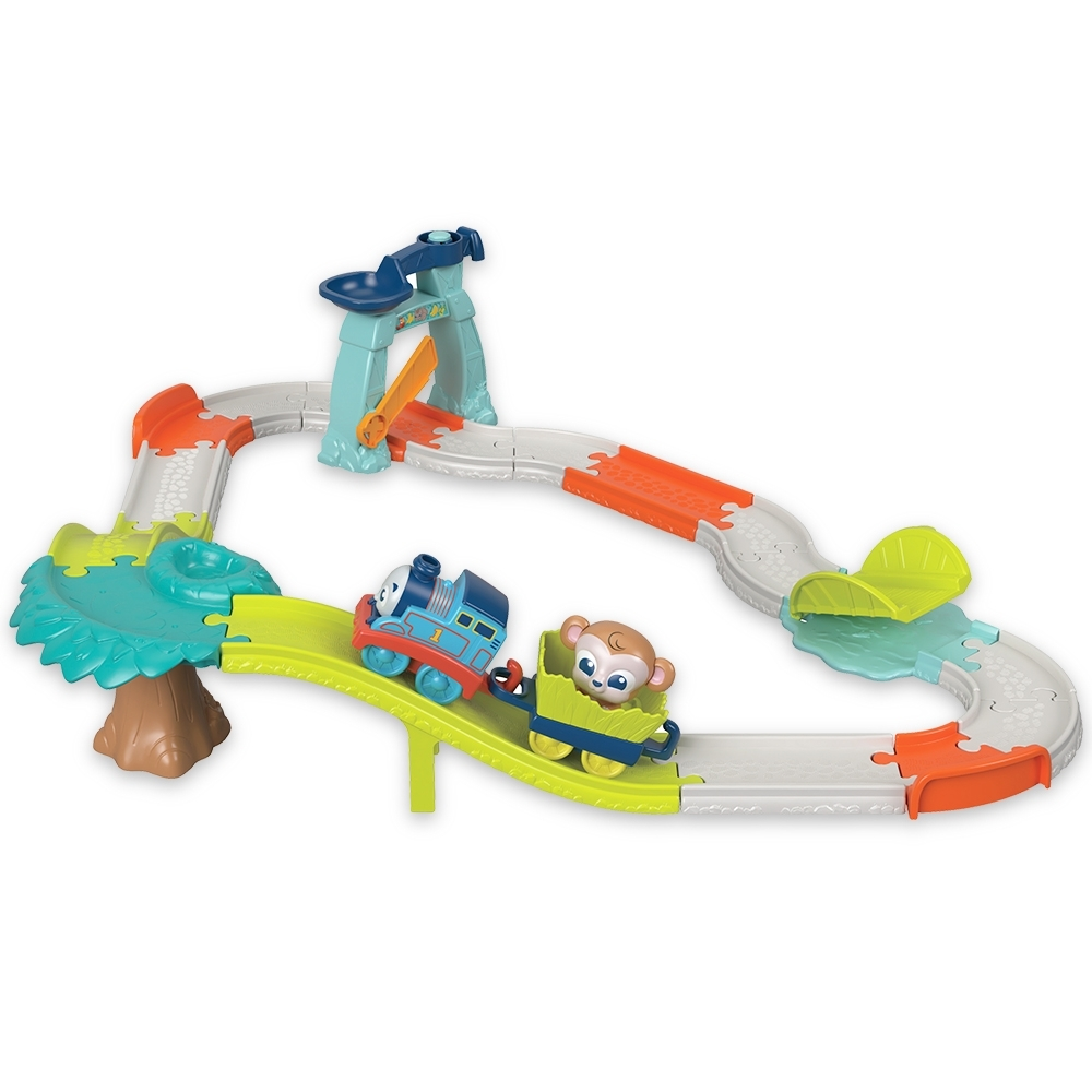 奇哥 湯瑪士 趣味動物火車遊戲組