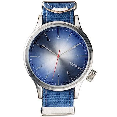 KOMONO Magnus Print 腕錶-海岸水手藍/46mm