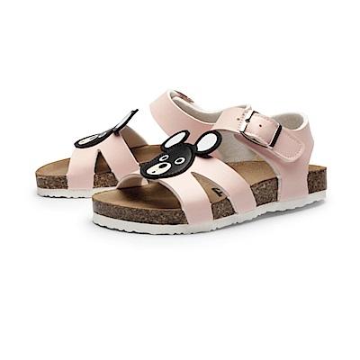 BuyGlasses 可愛動物童趣涼鞋-粉