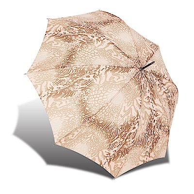 RAINSTORY 粉彩虎紋 抗UV自動開直骨傘