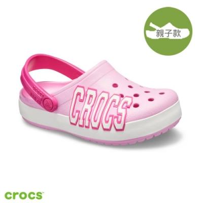Crocs 卡駱馳 (童鞋) 經典logo小卡駱班-205533-6I2