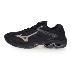 MIZUNO WAVE LIGHTNING Z5 男女排球鞋-訓練 黑黑灰