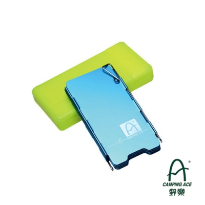 【CAMPING ACE】9片小型擋風板ARC-5103【藍色】