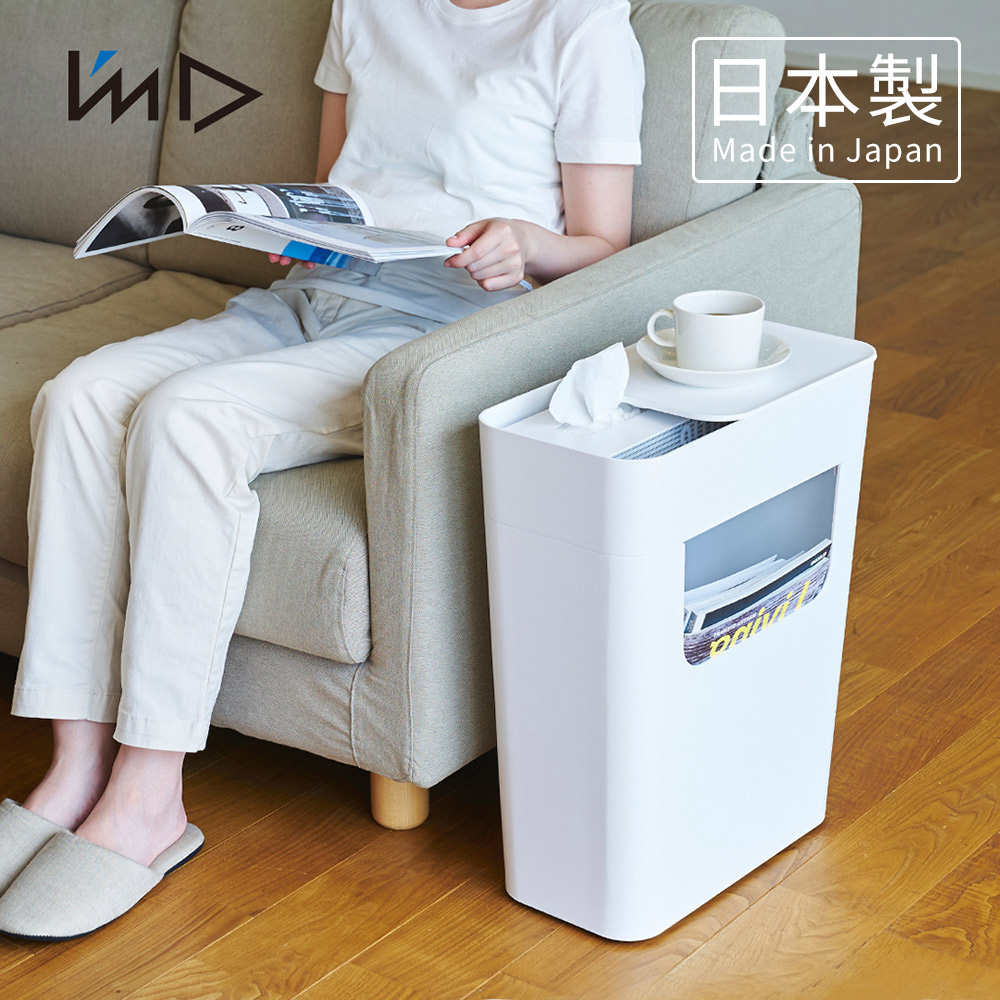 【日本岩谷Iwatani】ENOTS側面收納置物活動邊桌(附輪)-13.5L