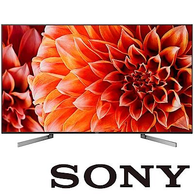 [無卡分期-12期]SONY 65型 4K安卓連網平面電視 KD-65X9000F