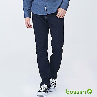 bossini男裝-四向彈性合身牛仔褲02海軍藍