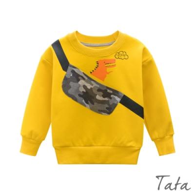 童裝 裝飾肩背包恐龍上衣 TATA KIDS