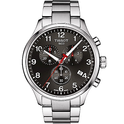 TISSOT天梭Chrono XL韻馳系列經典計時腕錶(T1166171105702)
