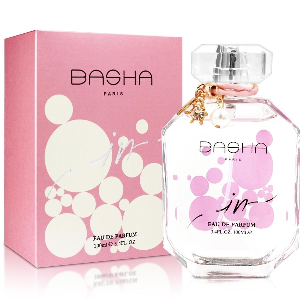 BASHA 巴莎 粉紅夢幻女性淡香精100ml-送身體乳