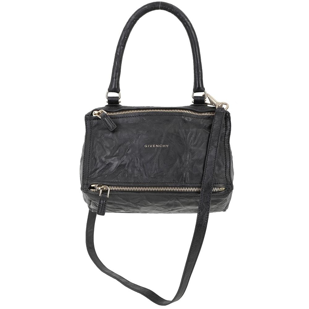 【限定53折】GIVENCHY Pandora 小款 黑色羊皮手提/斜背包-3款可選