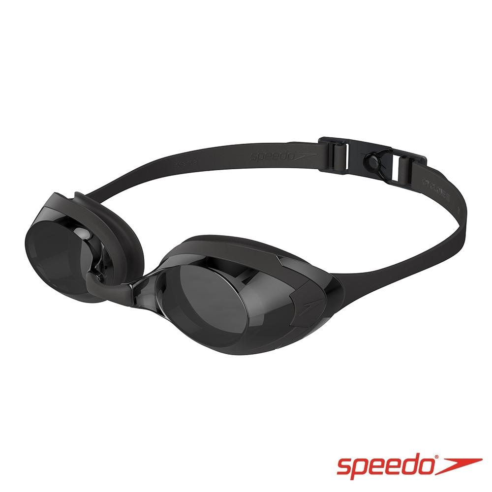 SPEEDO 成人運動泳鏡 Cyclone 3 黑/灰
