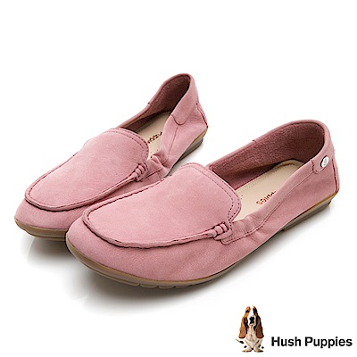 Hush Puppies AIDI 軟Q休閒鞋-粉紅