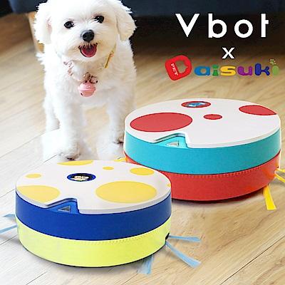 Vbot x Daisuki i6+ 二代聯名限量 掃+擦智慧鋰電地慕斯蛋糕掃地機器人