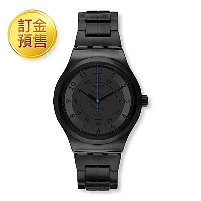 [訂金預售] Swatch 51號星球機械錶 SISTEM DARK 神秘黑夜手錶