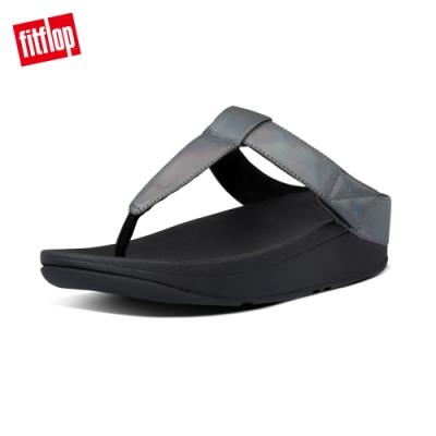 FitFlop MINA IRIDESCENT TOE-THONGS夾腳涼鞋-女(靚黑色)