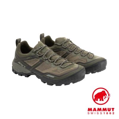 【Mammut】Ducan Low GTX 低筒登山鞋 男 綠 #3030-03520