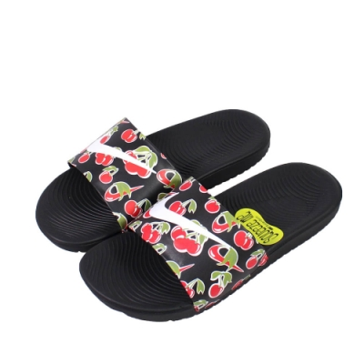 Nike 拖鞋 KAWA SLIDE SE PICNIC (GS/PS) 女鞋