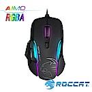 ROCCAT Kone-AIMO魔幻系列 艾摩版 RGBA電競滑鼠-黑