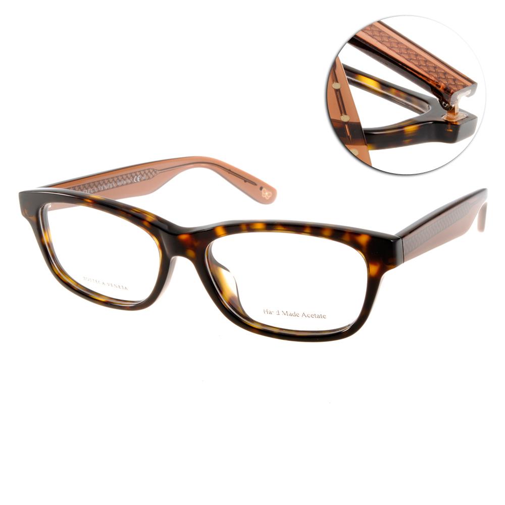 BOTTEGA VENETA 眼鏡 完美品味/琥珀-透棕 #BV6030F MW9 @ Y!購物