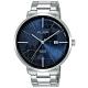 ALBA雅柏 世界地圖潮流手錶(AS9K61X1)-藍/43mm product thumbnail 1