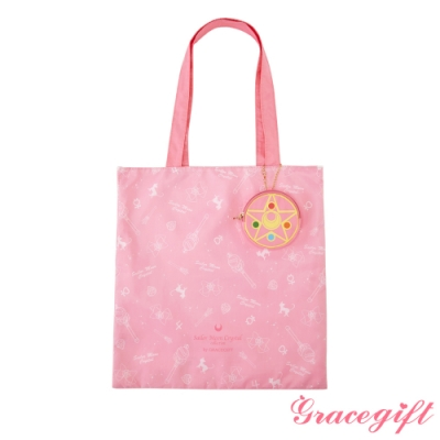 Grace gift-美戰滿版摺疊手提袋 粉