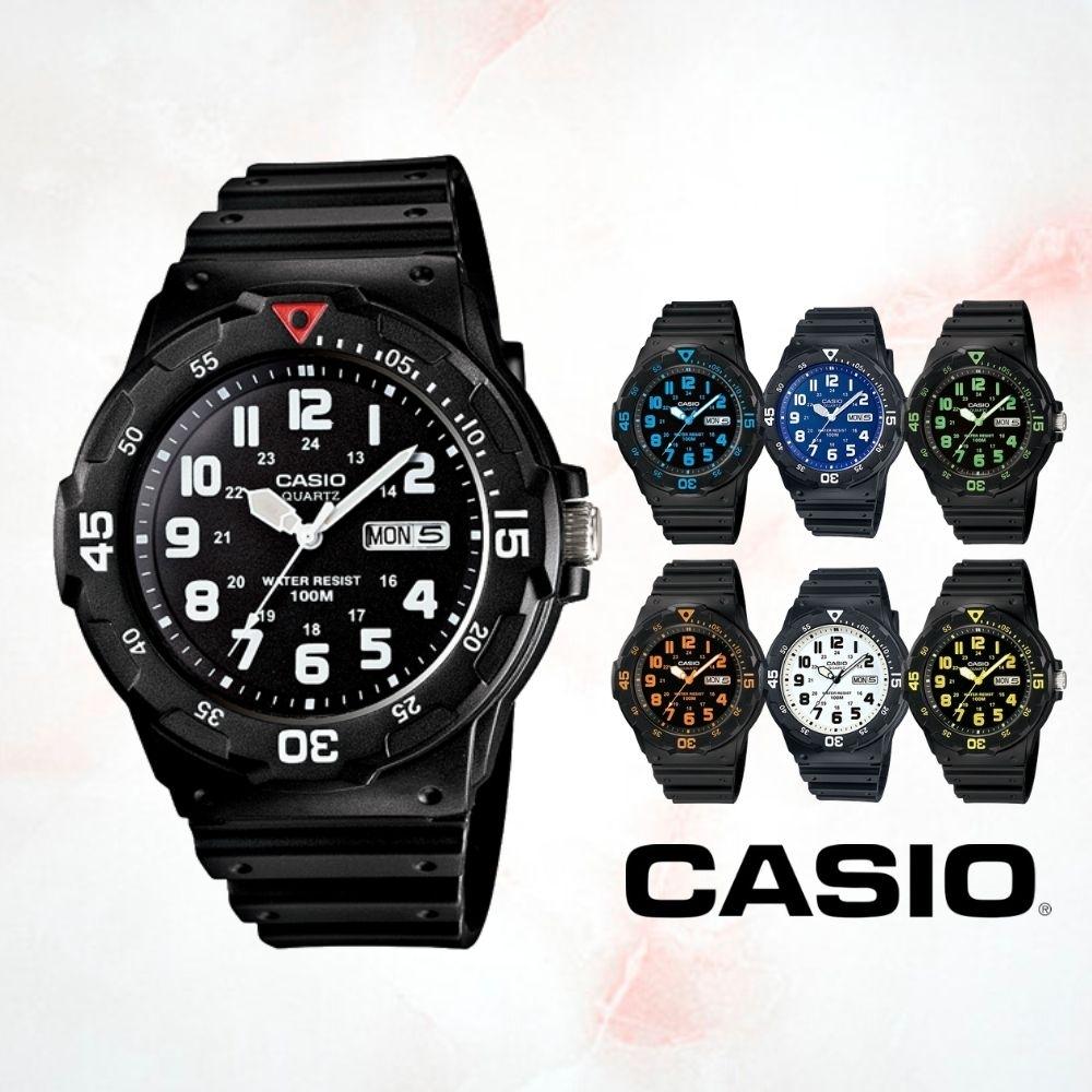 CASIO卡西歐 DIVER LOOK潛水風數字面(MRW-200H)