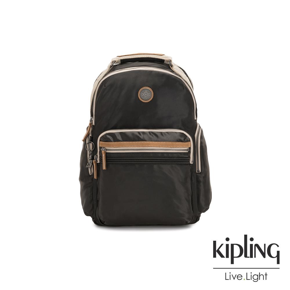 Kipling 邊緣地帶極致黑大容量手提後背包-OSHO-EDGELAND系列