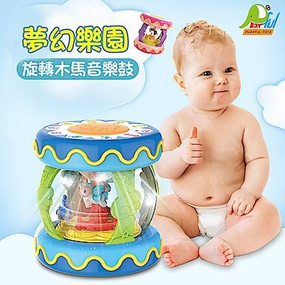 【Playful Toys 頑玩具】旋轉拍拍鼓
