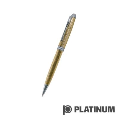 PLATINUM白金 原子筆 |  日系 雕花鍍金 BKG-1000
