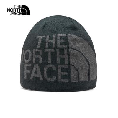 The North Face北面男女款灰色毛帽|AKNDG92