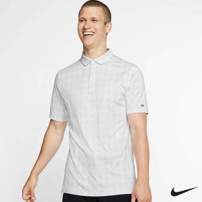 Nike Golf 男 格紋運動高爾夫POLO衫 灰 AV4193-012